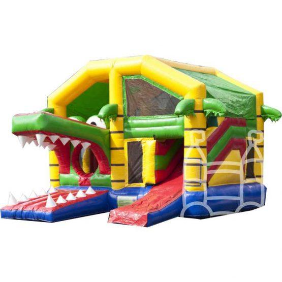 Speelkussen-Multiplay-Krokodil-met-dak-5x5m-huren