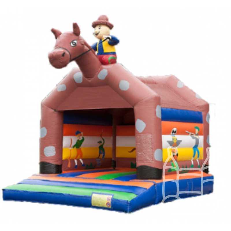 Springkussen-Paard-met-Ruiter-6x5-huren